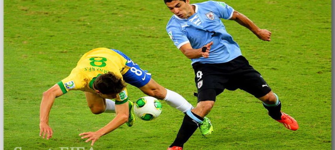 кубок конфедераций полуфинал бразилия уругвай