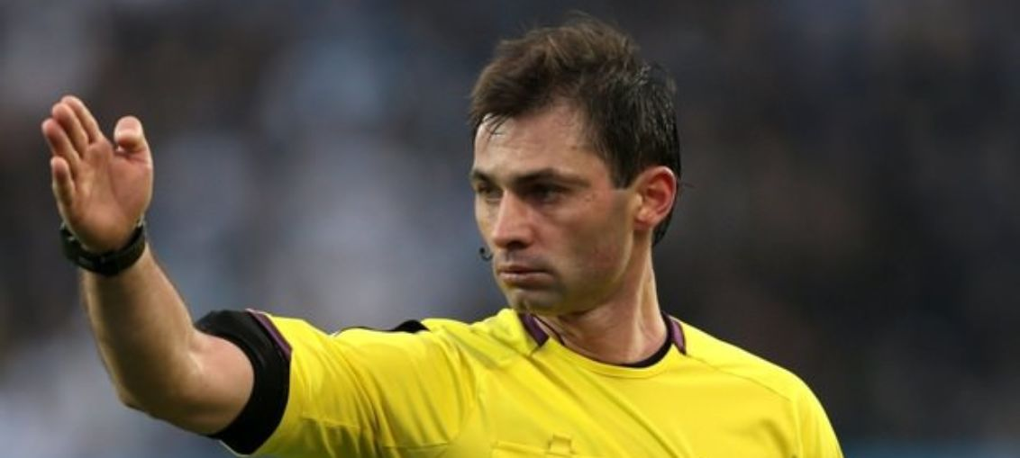 Арбитра, удалившего трех игроков «Урала» в матче с «Зенитом», отстранили от судейства