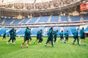 «Зенит» провел первую тренировку на новом домашнем стадионе «Санкт-Петербург»