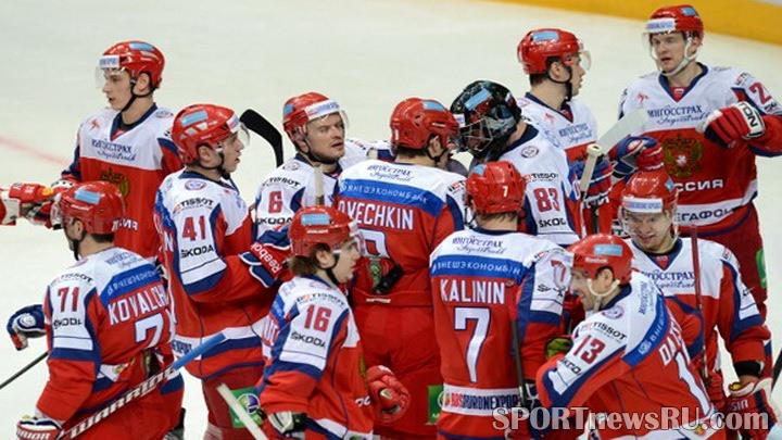 хоккей евротур 2013 кубок карьяла россия чехия