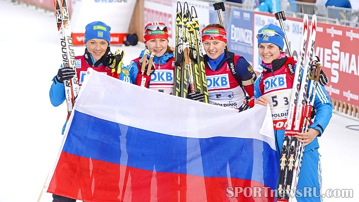 эстафетная сборная россии по биатлону