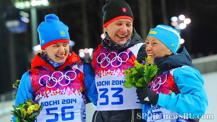 олимпиада 2014 биатлон
