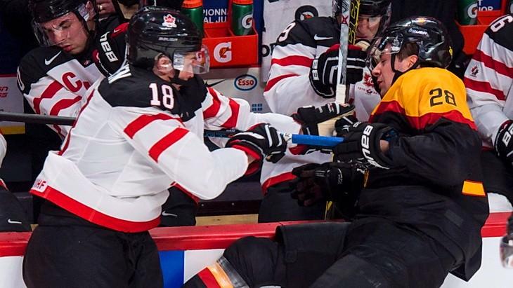 матч канада германия мчм по хоккею 2015