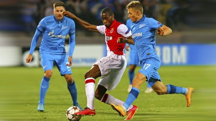 монако зенит футбол