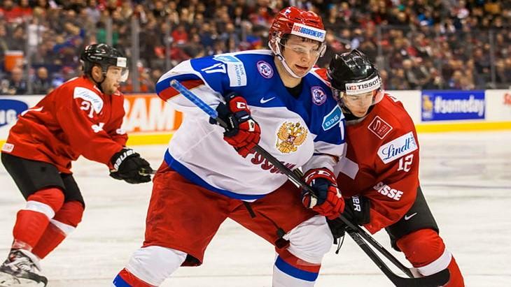 швейцария россия мчм по хоккею 2015