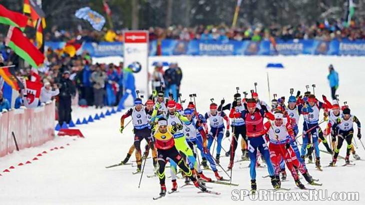 5 этап кубка мира по биатлону 2015 масс-старт
