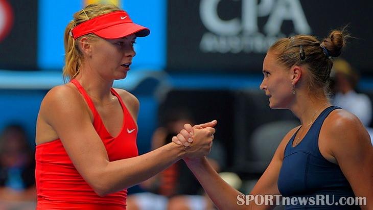 мария шарапова и панова теннис австралия опен 2015