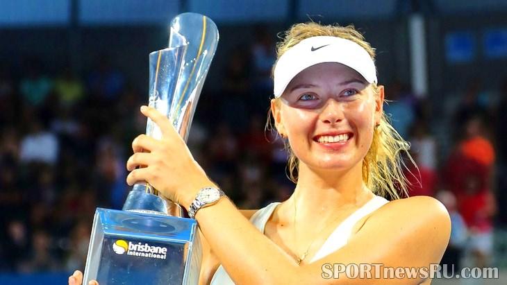 мария шарапова большой теннис