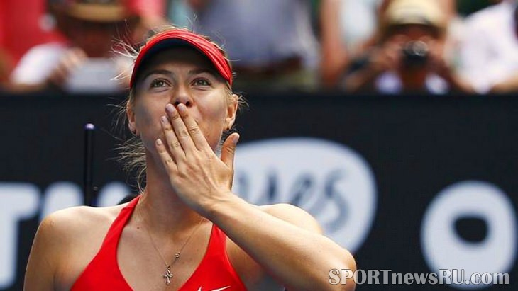 шарапова australian open 2015 большой теннис