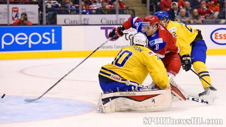 мчм 2015 по хоккею матч швеция россия
