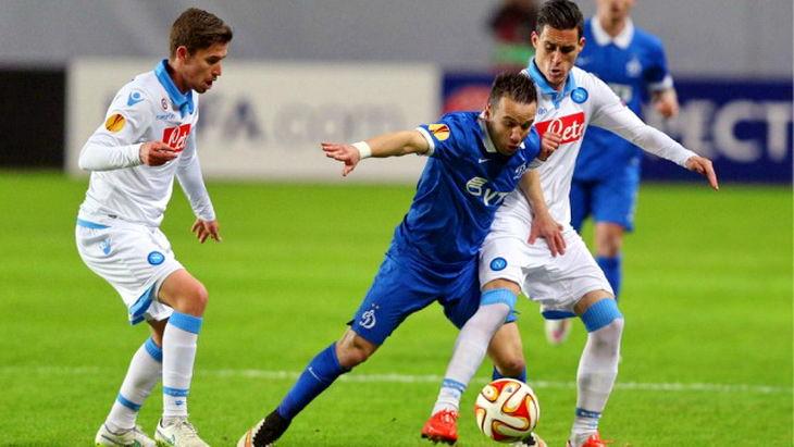 матч динамо-наполи футбол уефа лига европы