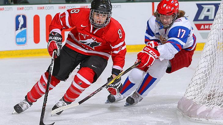 матч канада россия чм по хоккею 2015 среди женщин