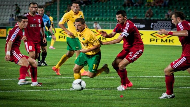 кубок россии футбол матч кубань – мордовия