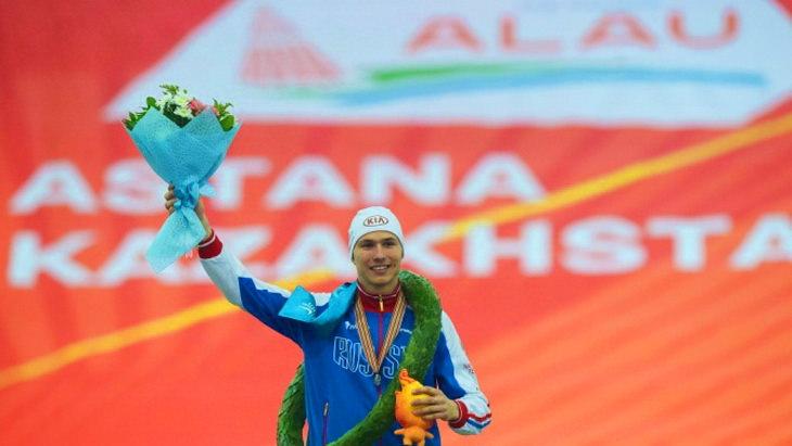 павел кулижников коньки чемпионат мира по спринтерскому многоборью 2015 год