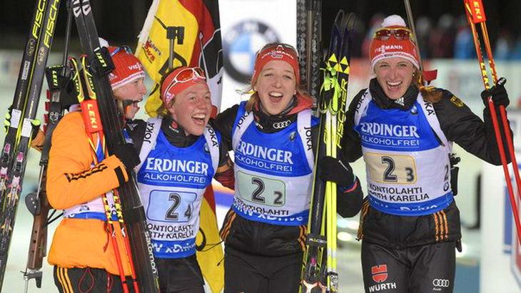 женская сборная германии биатлон чм 2015