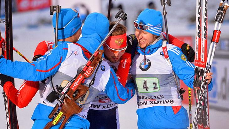 биатлон чм-2015 сборная россии