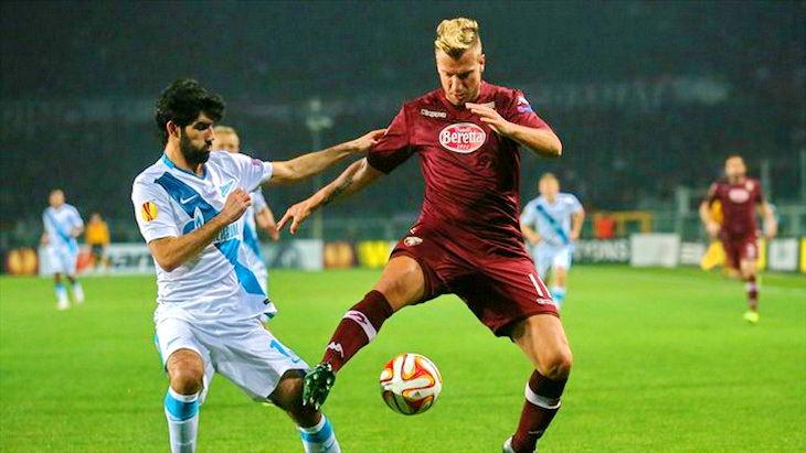 торино-зенит футбол уефа лига европы