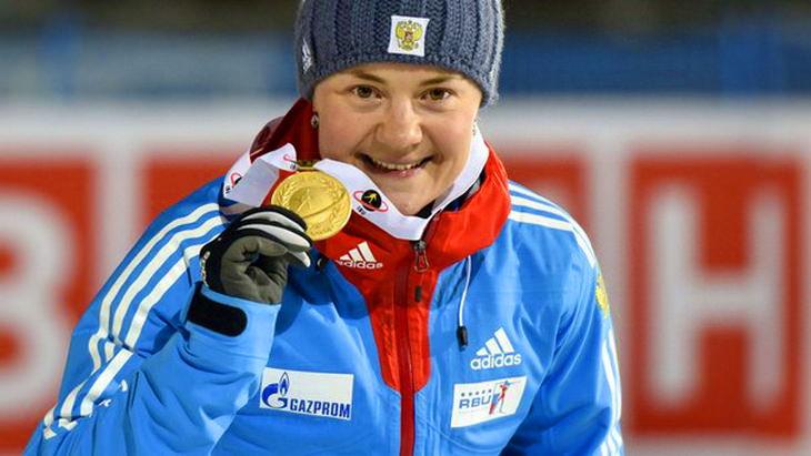 екатерина юрлова чм по биатлону-2015