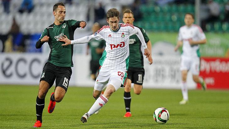 краснодар-локомотив футбол 25 тур премьер-лиги россии