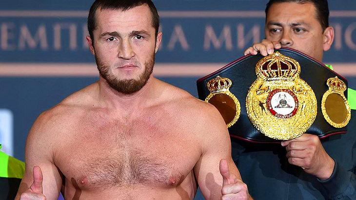 лебедев каленга титульный бой бокс