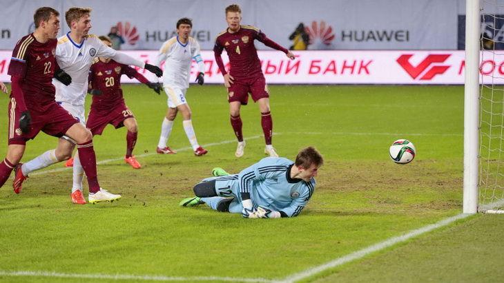 товарищеский матч россия казахстан футбол