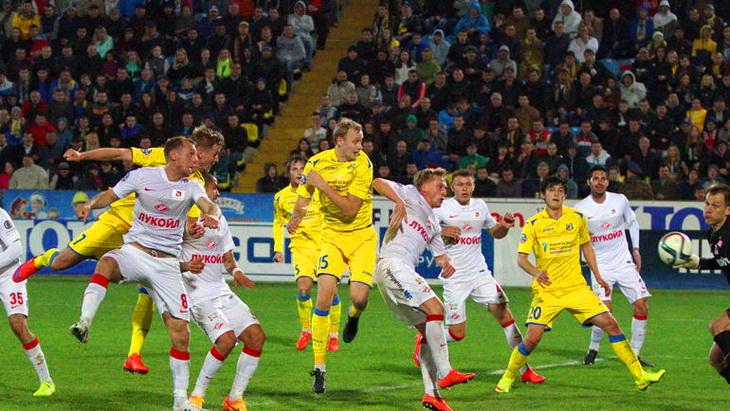 матч ростов спартак 23 тур чемпионата россии по футболу 2015