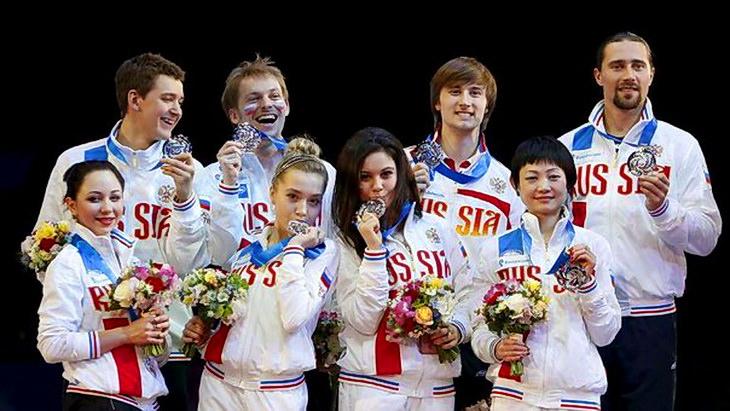 сборная россии командный чм по фигурному катанию 2015