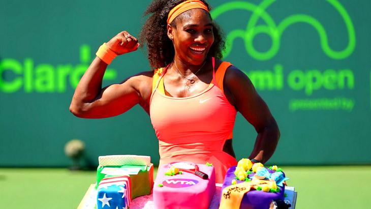 серена уильямс теннисный турнир в майами 2015