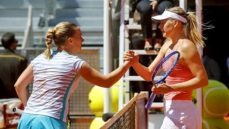 мария шарапова и кузнецова теннисный турнир в мадриде