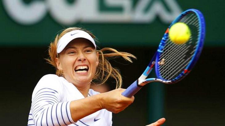мария шарапова теннис турнир ролан гаррос 2015