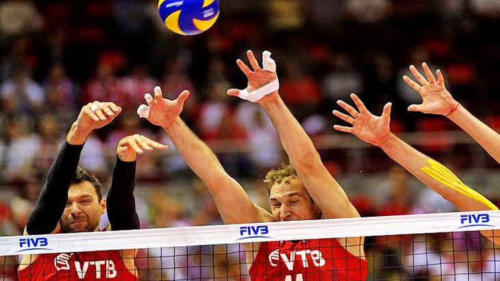 матч мировой лиги польша – россия волейбол