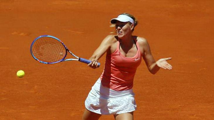 мария шарапова теннисный турнир в мадриде