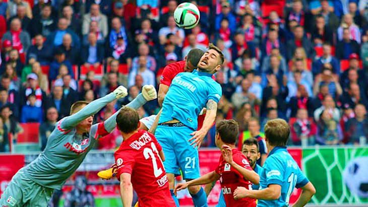 спартак - зенит матч 26 тура чемпионата россии по футболу