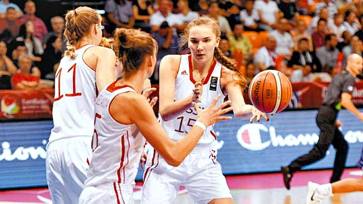 че баскетбол женщины 2015