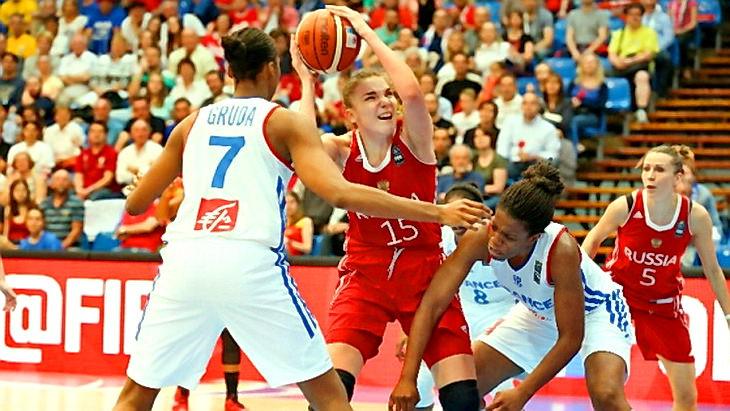 матч франция - россия баскетбол 1/4 финала чемпионата европы