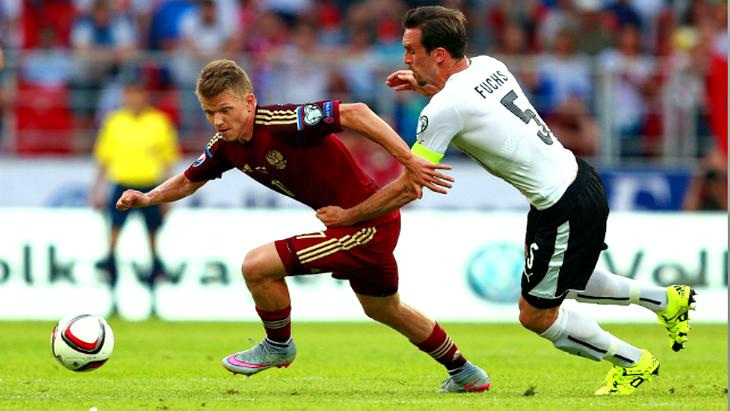 матч россия австрия футбол отборочный турнир евро 2016