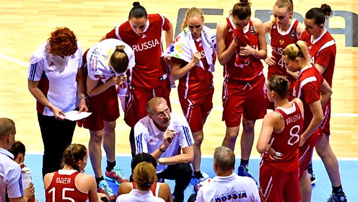 че по баскетболу 2015 женщины сборная россии