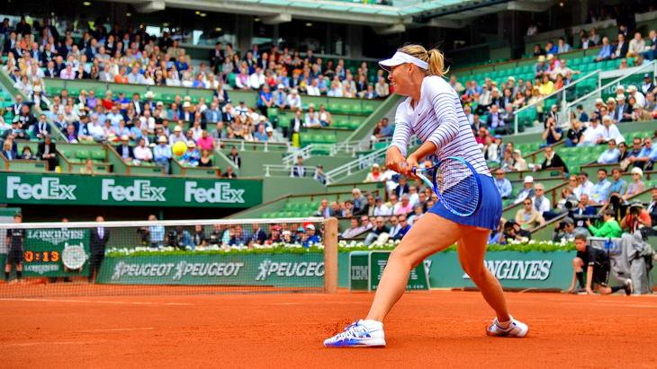 мария шарапова большой теннис турнир ролан гаррос