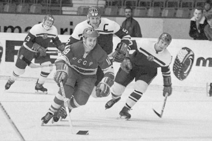фото старых хоккей ссср