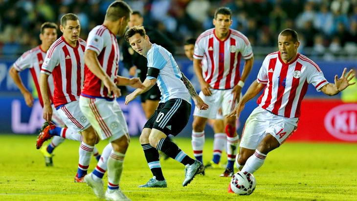 аргентина парагвай футбол кубок америки 2015 полуфинал