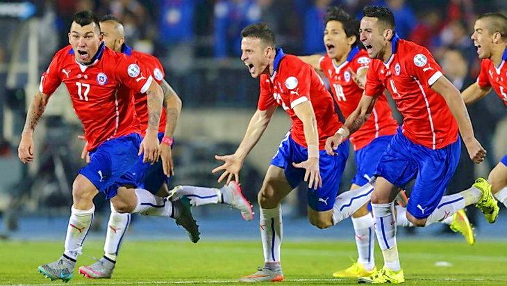 чили - аргентина кубок америки по футболу 2015