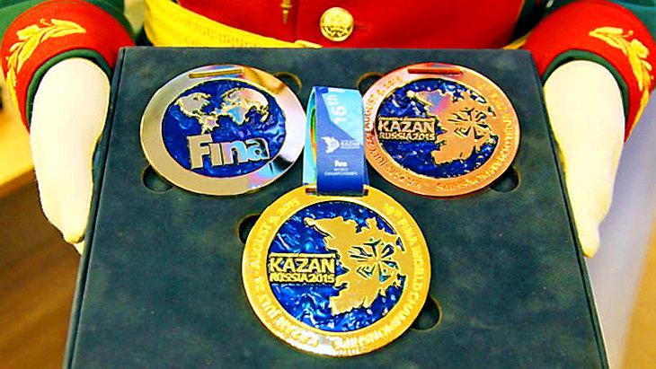 медали чемпионат мира по водным видам спорта казань 2015