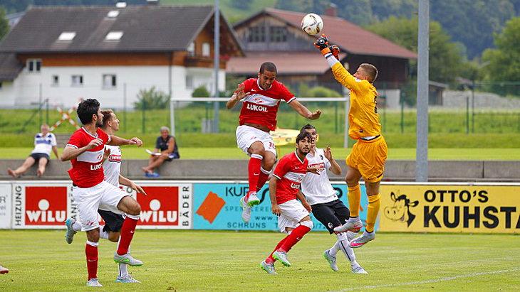 спартак – фрайбург футбол товарищеский матч
