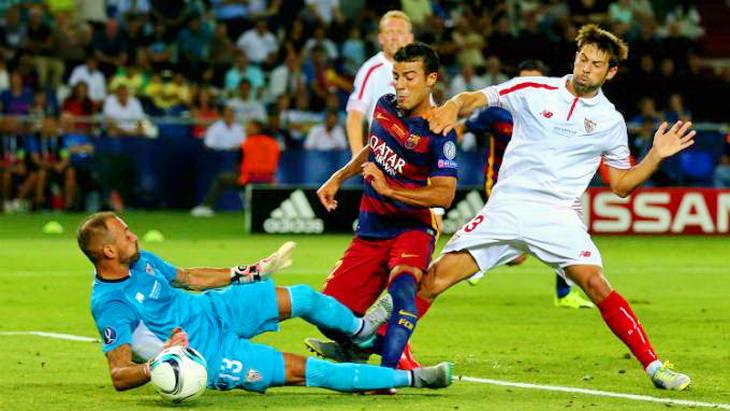 матч барселона севилья футбол суперкубок уефа 2015