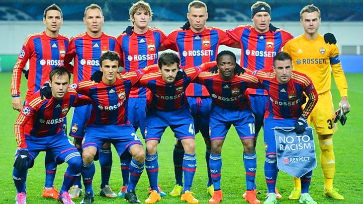 цска футбол лига чемпионов