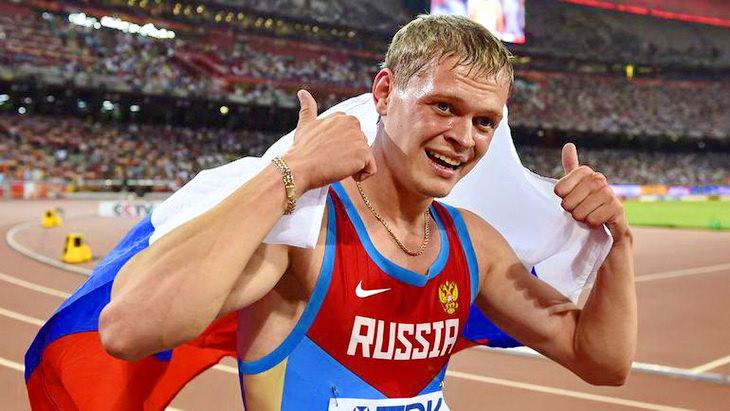 денис кудрявцев легкая атлетика чм 2015