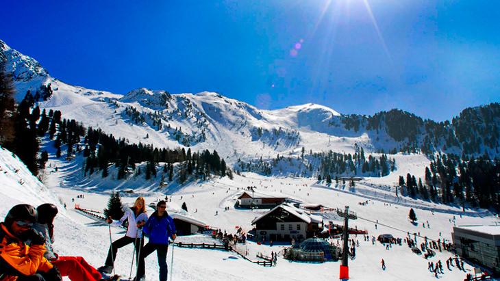 Люди стали чаще проводить отпуск на горнолыжных склонах