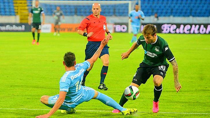 матч слован - краснодар футбол лига европы