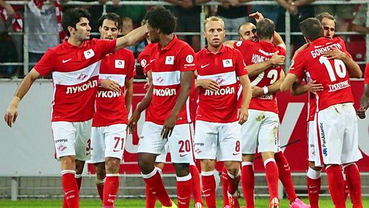 спартак футбол 5-й тур чемпионата россии