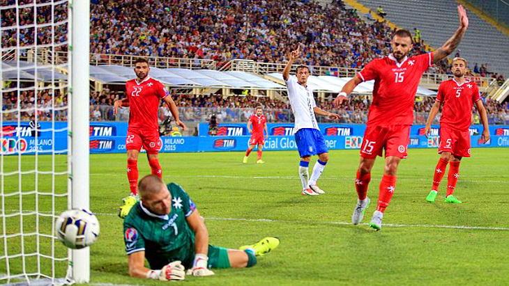 матч италия мальта футбол евро 2016